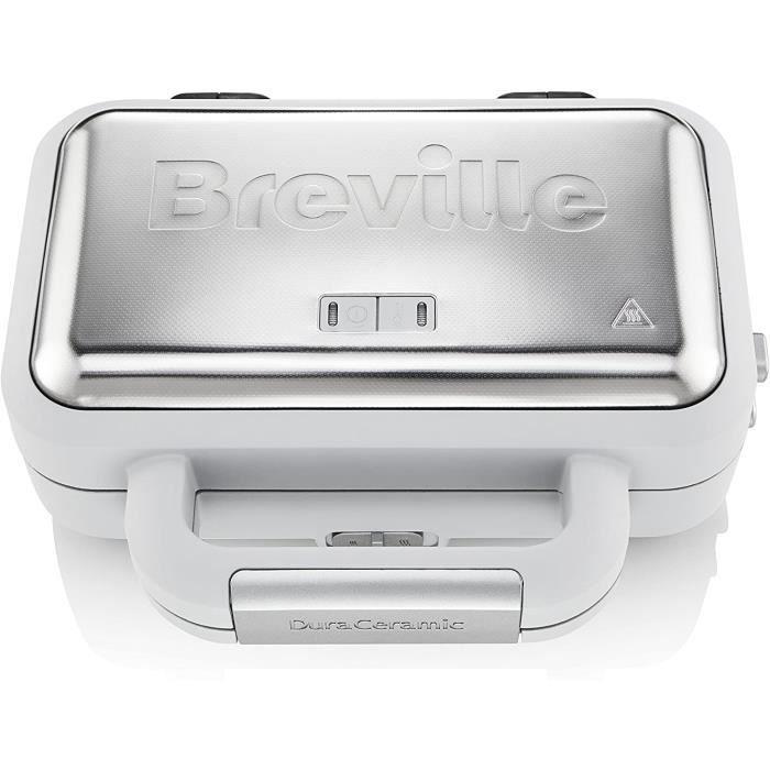 Breville VST070X Appareil à croque-monsieur DuraCeramic Jumbo VST070X