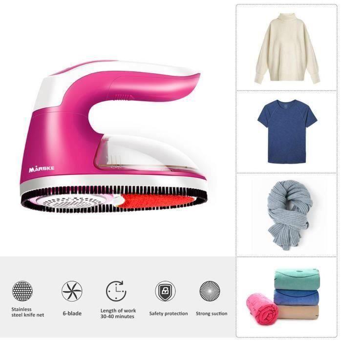 Rasoir Anti-Peluche-Anti-Bouloche,Rotatif Lint Remover Electrique-Pour Chandails- Vêtements-Rideaux-Tapis Etc la28163
