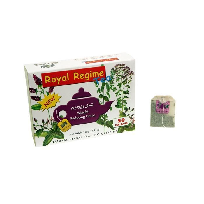 Royal Regime Tea - Thé Minceur, 50 sachets