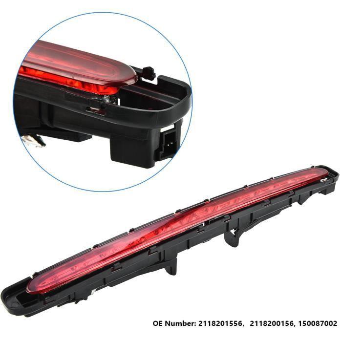 AYNEFY 2118200156 LED troisième feu stop feu arrière feu arrière pour Mercedes-Benz Classe E E320 E350 E55 2118201556