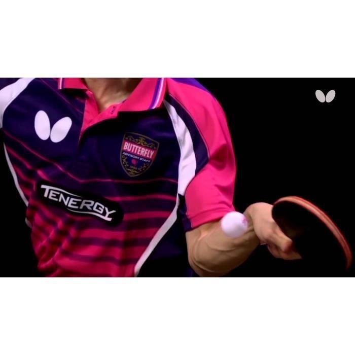 Butterfly Jun Mizutani Gold Raquette de ping-Pong Multicolore