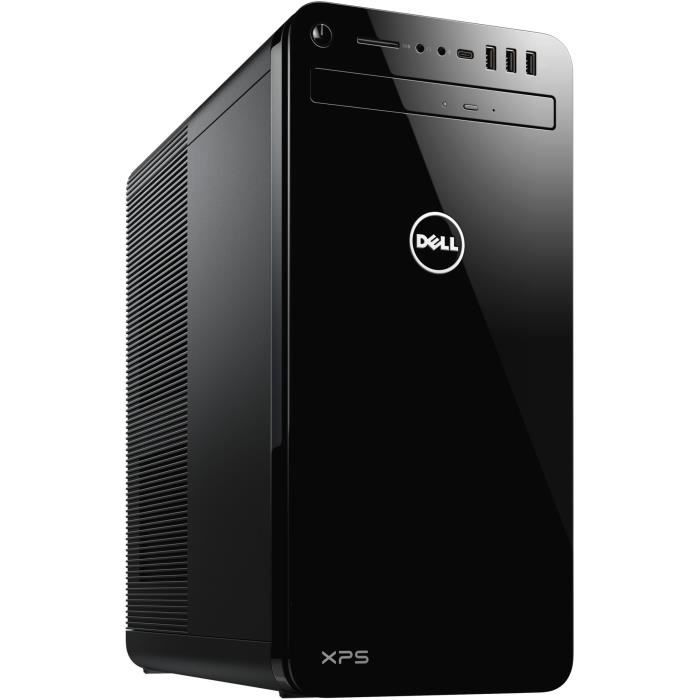 DELL PC de Bureau XPS 8930 - Core i7-8700 - RAM 16Go - Stockage 1To HDD + 256Go SSD - GTX 1070 8Go - Windows 10
