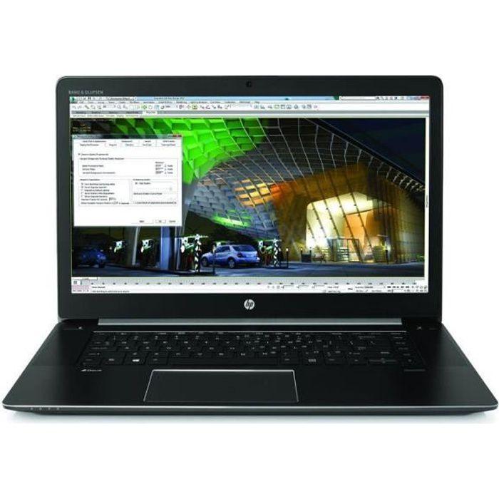 station de travail mobile HP ZBook 15 G3 - 15,6- - Core i7 6820HQ - 16 Go de RAM - 512 Go