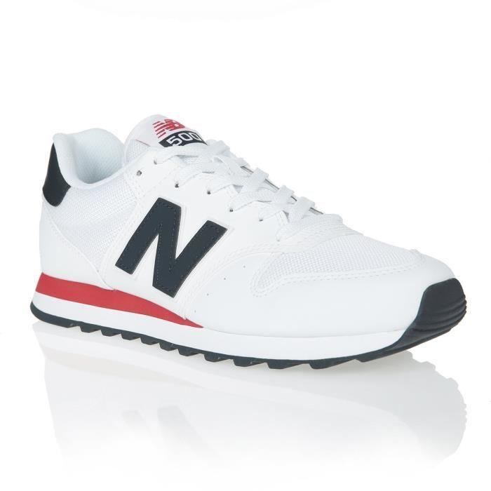 NEW BALANCE Baskets NB500 Blanc Mixte
