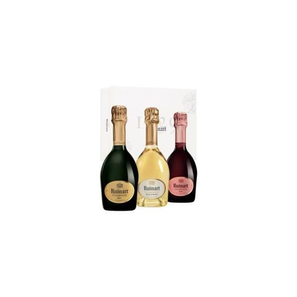Coffret Collection Ruinart Demi-Bouteille - Champagne AOC