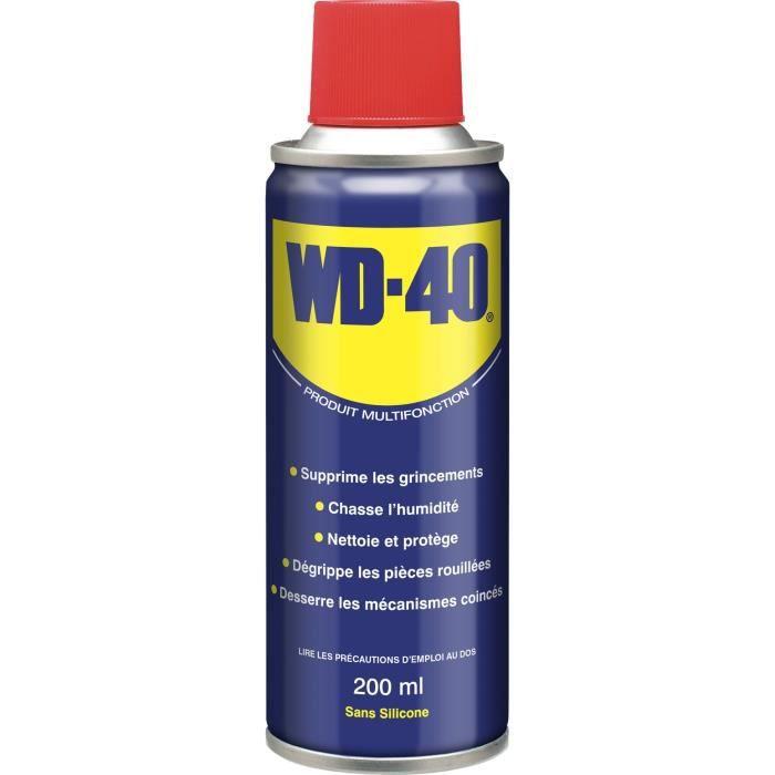 WD-40 Produit Multifonction aérosol - 200 ml