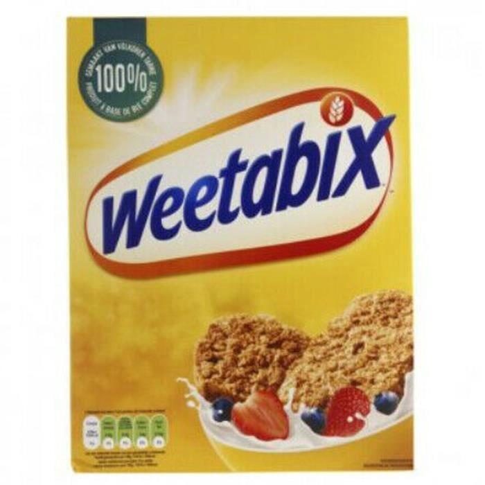 Weetabix Original 95% Céréales de blé Complet - 430 g