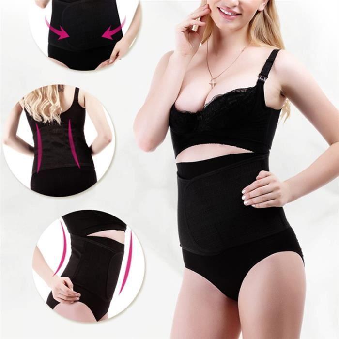 Ceinture de taille à ceinture Post-partum bande de ventre de protection de récupération Classeur abdominale pour femmes