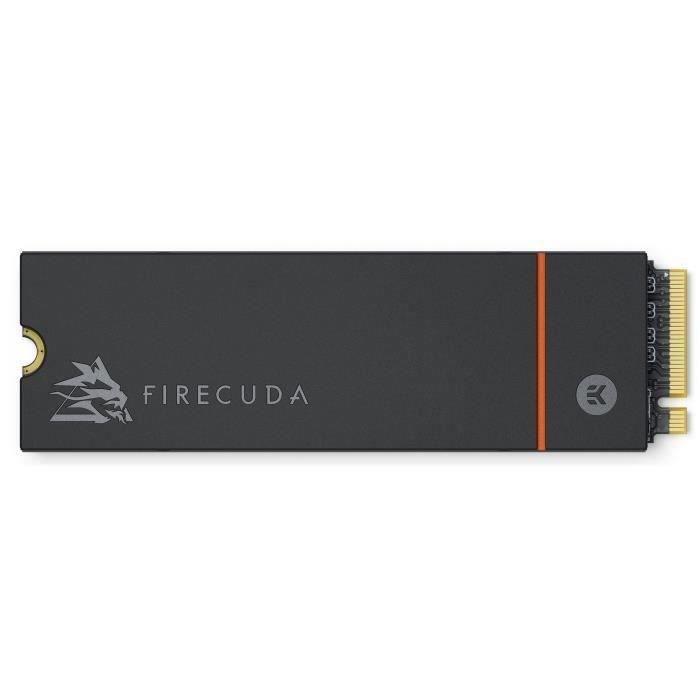 Disque SSD Interne - SEAGATE - FireCuda 530 Heatsink - 500Go - PCI Express 4.0 x4 (NVMe) (ZP500GM3A023)