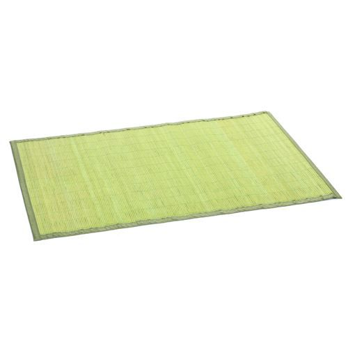 tapis color en bambou 60 x 90 cm vert achat vente tapis cdiscount. Black Bedroom Furniture Sets. Home Design Ideas