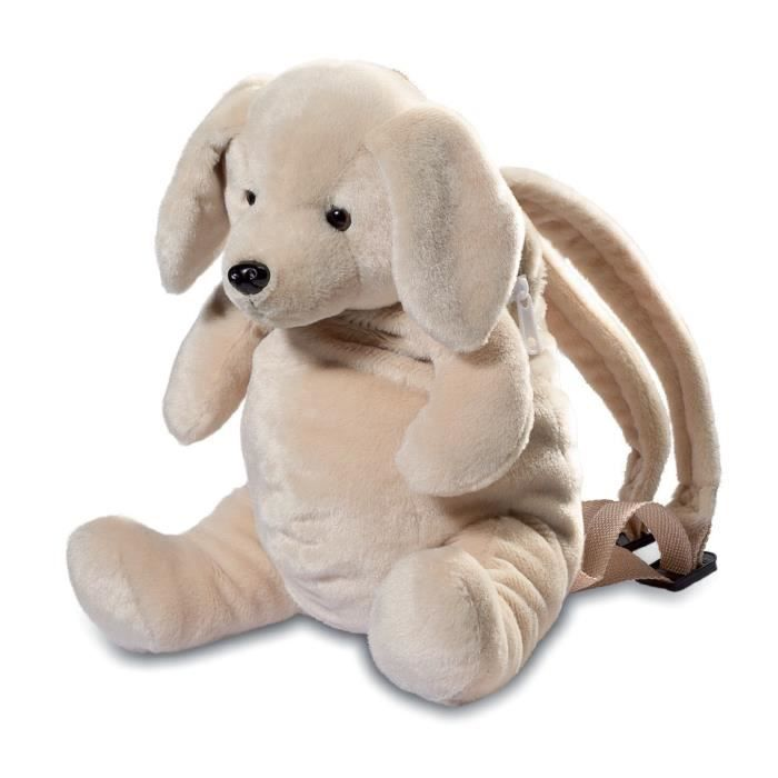 sac dos enfant peluche chien labrador achat vente peluche cdiscount. Black Bedroom Furniture Sets. Home Design Ideas