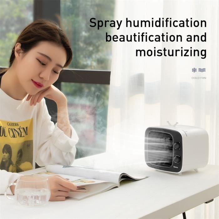 CLIMATISEUR MOBILE Mini refroidisseur d'air portable d'humidi