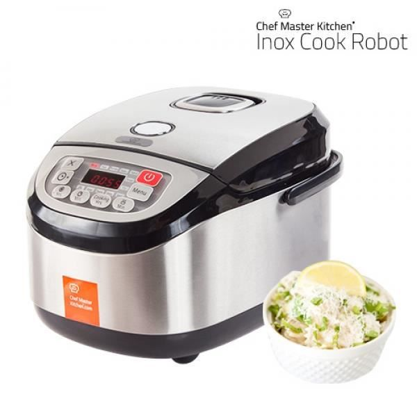 autocuiseur robot chef master kitchen inox cook achat. Black Bedroom Furniture Sets. Home Design Ideas