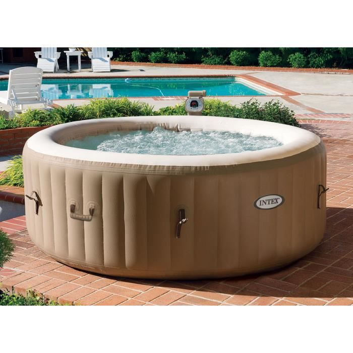 Spa gonflable intex 4 personnes diam tre 1 91 m achat - Jacuzzi gonflable occasion ...