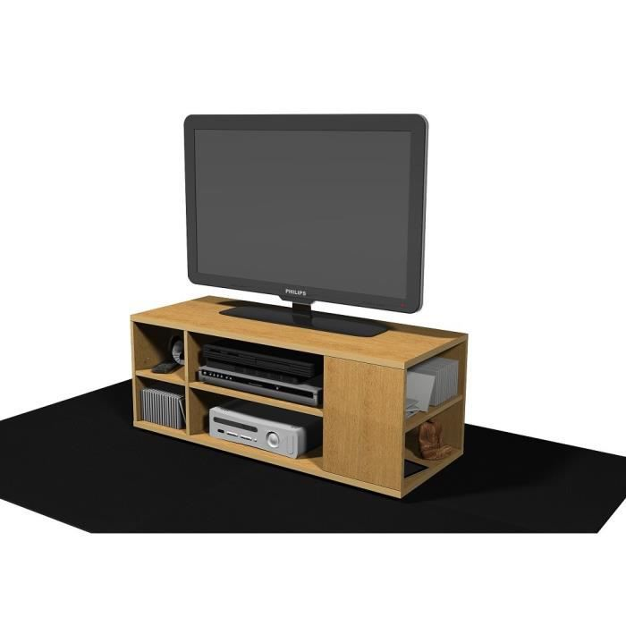 meuble tv ludvig ch ne achat vente meuble tv meuble tv ludvig ch ne cdiscount. Black Bedroom Furniture Sets. Home Design Ideas