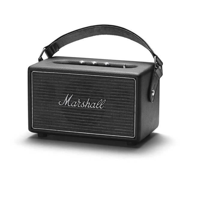 enceinte bluetooth marshall kilburn steel edition. Black Bedroom Furniture Sets. Home Design Ideas