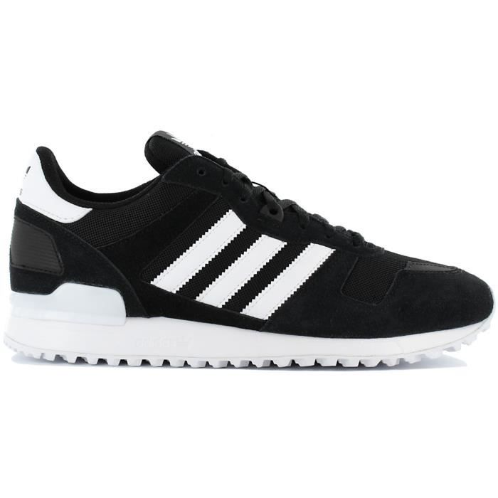huge discount a896b c053e adidas Originals ZX 700 BY9264 Chaussures Homme Sneaker Baskets Noir