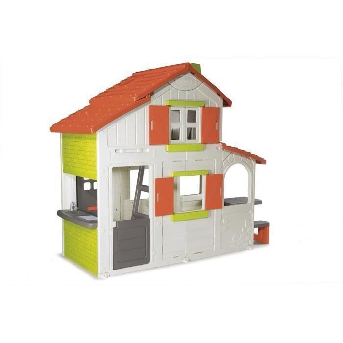 Maison smoby les bons plans de micromonde for Maison exterieur winnie