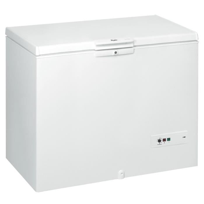 Cong lateur coffre whirlpool whm4611 blanc achat vente cong lateur coffre - Vente congelateur coffre ...