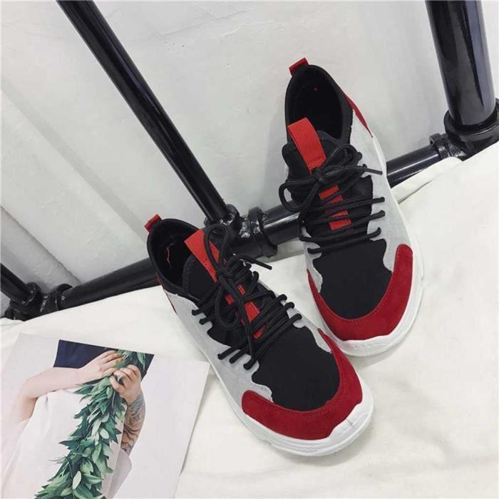 Femmes pour femmes mixtes Couleurs talon plat Casual Mocassins Chaussures de sport Chaussures de sport veberge@7420