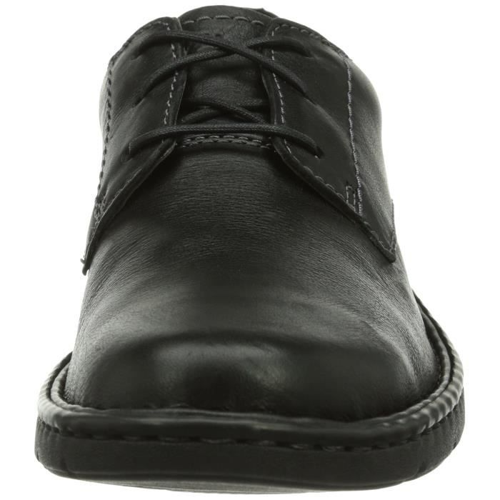 Clarks Hommes Stratton Way Chaussures à lacets 3F55OF Taille-43