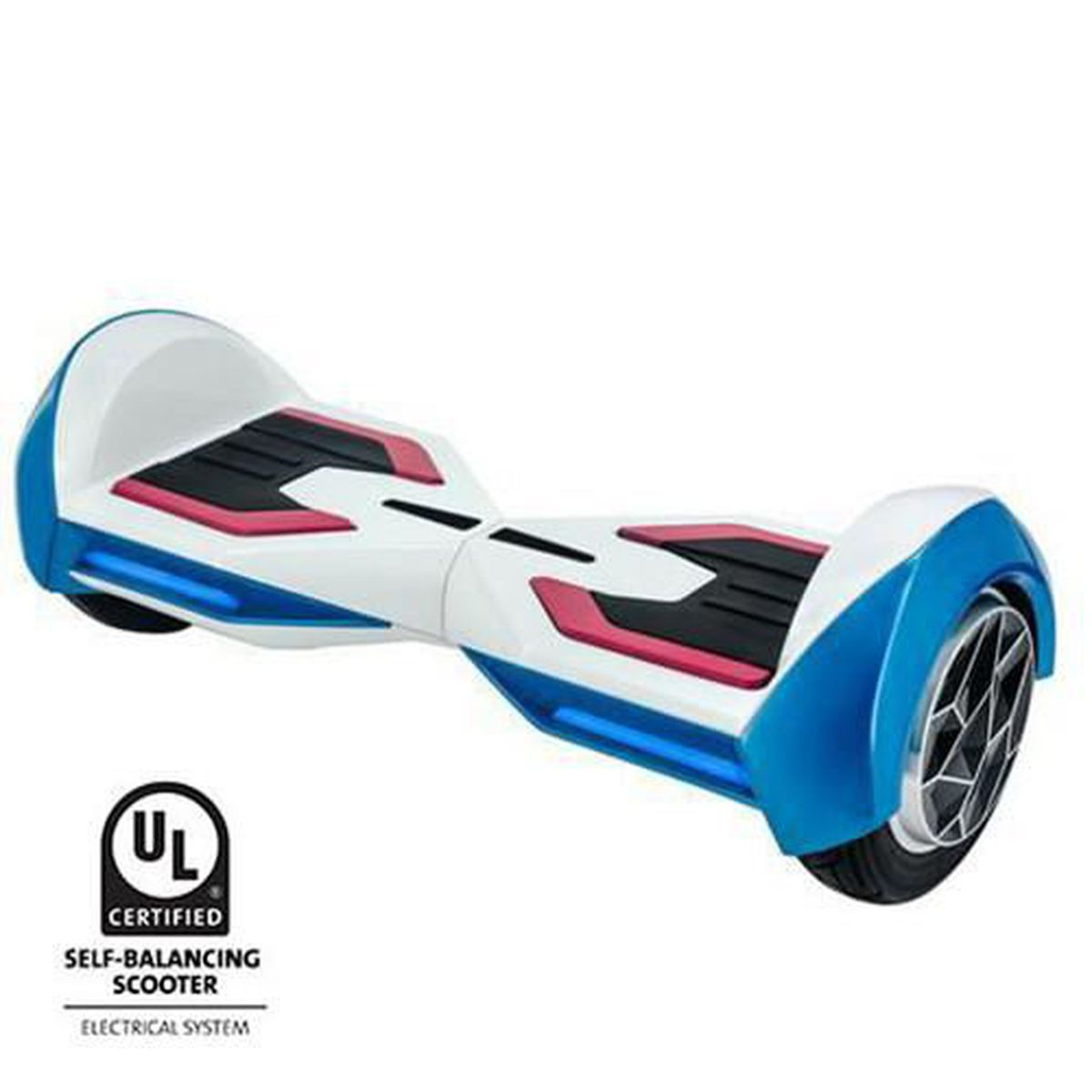 hoverboard huracan blanc bluetooth 8 pouces achat. Black Bedroom Furniture Sets. Home Design Ideas