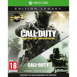 JEU XBOX ONE Call of Duty Infinite Warfare Legacy Edition - Jeu