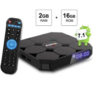 BOX MULTIMEDIA Android TV Box 7.1 Bluetooth Amlogic 64 Bits 4K*2K