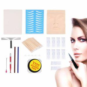 KIT TATOUAGE Kit Tatouage Stylo Sourcils Lip Maquillage Pratiqu
