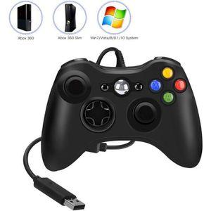 MANETTE JEUX VIDÉO Xbox 360 Manette Filaire de 1.5m Double Vibration