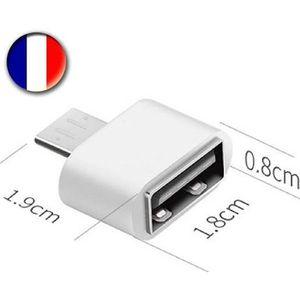 CÂBLE INFORMATIQUE Adaptateur Convertisseur USB FEMELLE - MICRO USB M