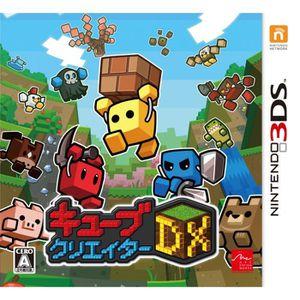 JEU NEW 3DS - 3DS XL INTENDO 3DS Cube Creator DX JAPANESE IMPORT JAPONA