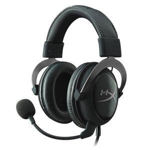 CASQUE AVEC MICROPHONE Kingston Hyper X Gaming Headset Casque d'écoute pr