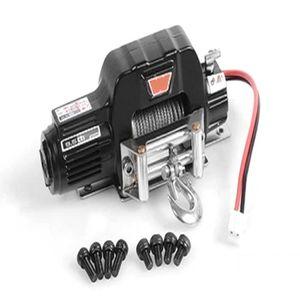 AUTO WINCH noir 1:10 Simulez un mini treuil électrique en métal