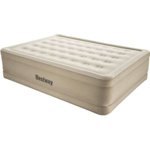 LIT GONFLABLE - AIRBED FORTECH ESSENCE Matelas gonflable beige 152x203 -