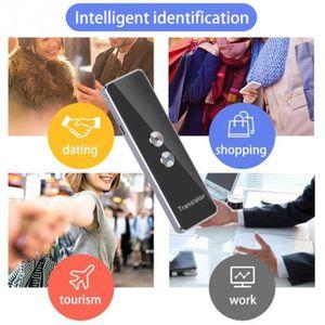 KoelrMsd Traducteur multilingue Intelligent Voix traducteur instantan/é /écouteurs Clip Casques Casques Multifonctions