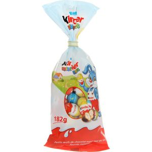 CONFISERIE DE CHOCOLAT KINDER Sachet Mini Eggs 182g