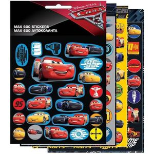 JEU DE STICKERS 600 stickers Cars Disney enfant Autocollant GUIZMA
