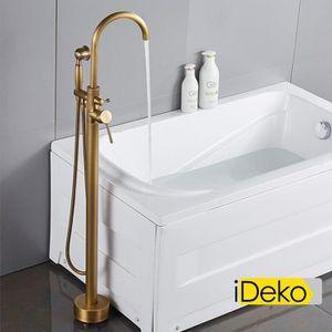 ROBINETTERIE SDB iDeko® Robinet de baignoire ilot sur Pied salle de