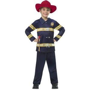 DÉGUISEMENT - PANOPLIE AMSCAN - Déguisement Pompier - pantalon, haut et c