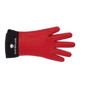 Masterclass imperméable à l/'eau et la chaleur Anti-Silicone Four Gant-Rouge