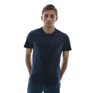 T-SHIRT tee shirt levis ss sunset pocket tee bleu