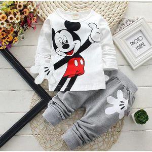 Ensemble de vêtements Mickey ensemble vêtement d'enfant 2 pièces en coto