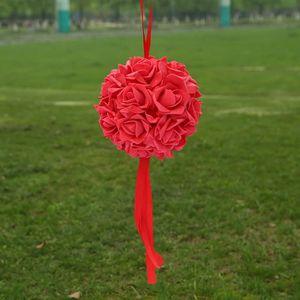 Fleurs stabilisées Multicolore 32cm boule de mariage cérémonie de fia