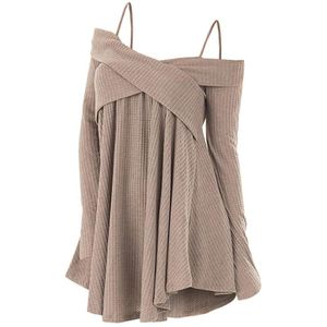 PULL Pull Femme Manches Longue chandail mode Entrecrois