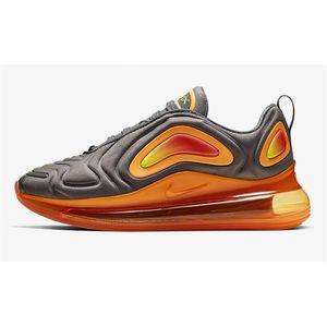 Nike Air Max 720 Gris Orange Chaussures De Course. Gris ...