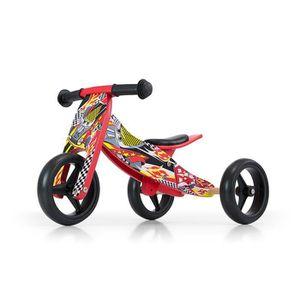 DRAISIENNE JAKE Vélo 2 en 1 Tricycle et draisienne en bois, V