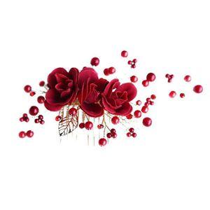 BARRETTE - CHOUCHOU 1 x Bandeau de mariée avec Une Belle Fleur Lumineu