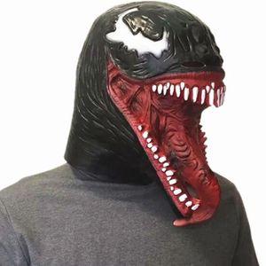 MASQUE - DÉCOR VISAGE Marvel Spider-Man Venom Masque Cosplay SpiderMan E