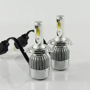 PHARES - OPTIQUES 2pcs LED Ampoules de Phare de Voiture - H4/HB2/900
